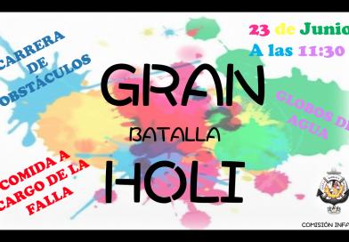 GRAN batalla HOLI – 23 Junio