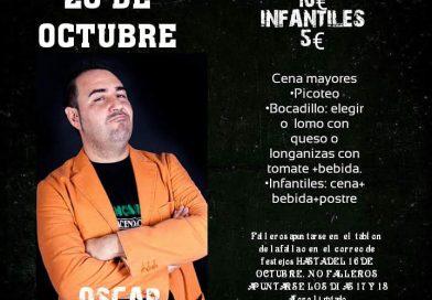 Oscar Tramoyeres – 20 de octubre