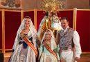 María, Lourdes y Quique estuvieron en el Besamanos a nuestra Cheperudeta