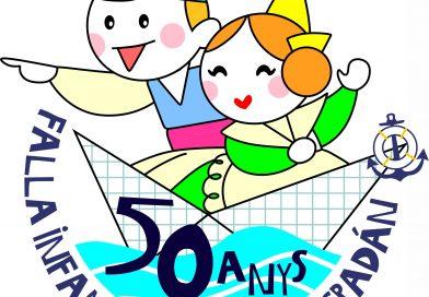 Os presentamos nuestro Logo del 50 Aniversario Infantil