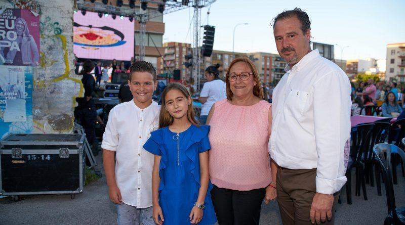 Paula, Raúl y Vicen estrenaron sus cargos en Beteró